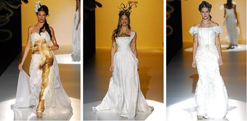 Vestidos influencia Griega