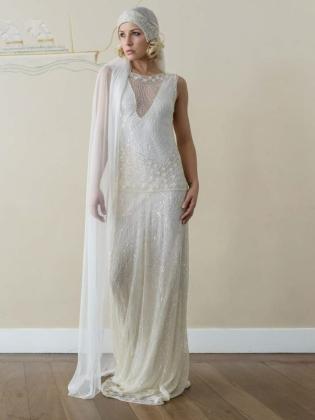 vestido de noviaaños20