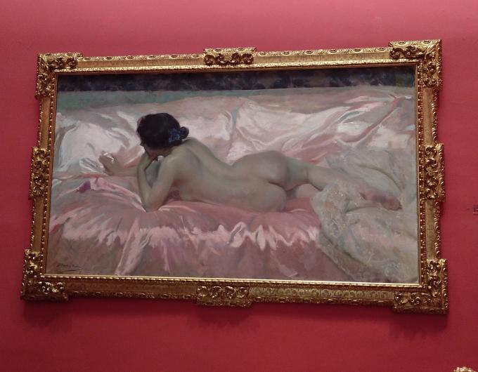 Desnudo mujer 1902