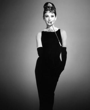 audrey vestido negro