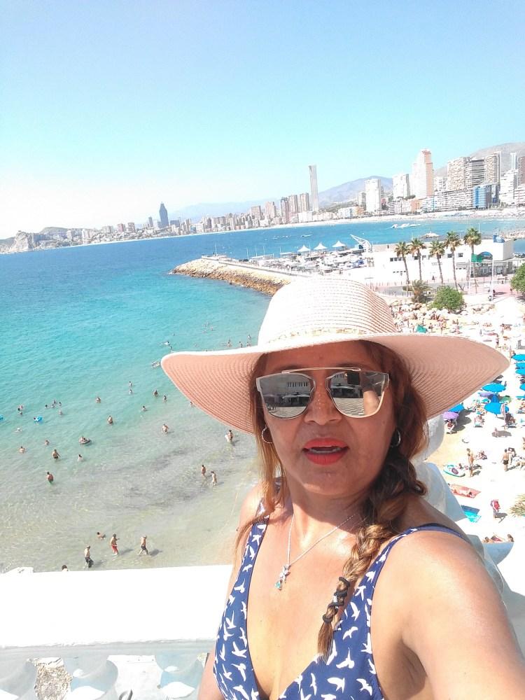 Selfi playa poniente