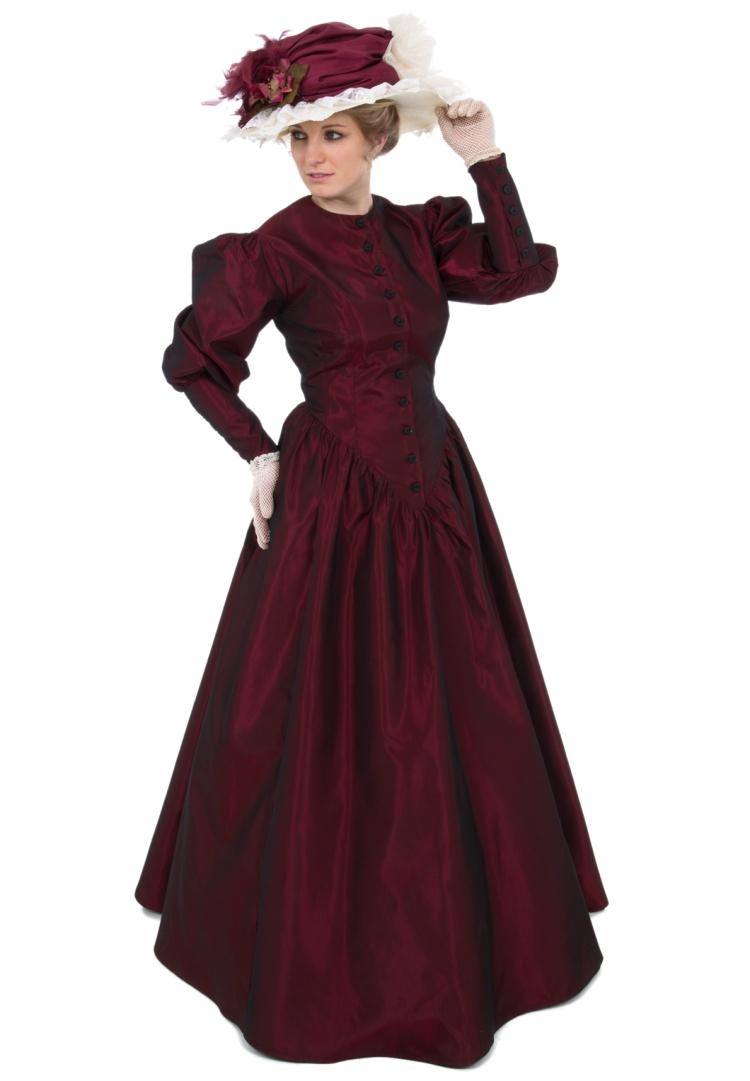 Vestido moda Victoriana