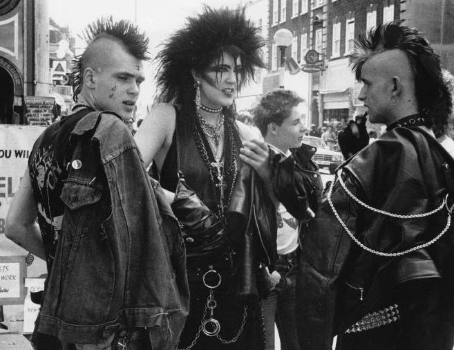 Estilo punk 70