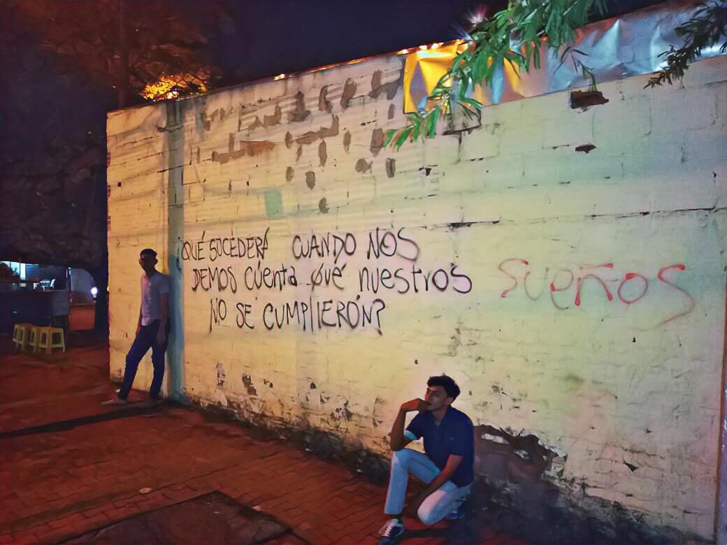 Grafiti en Neiva Colombia