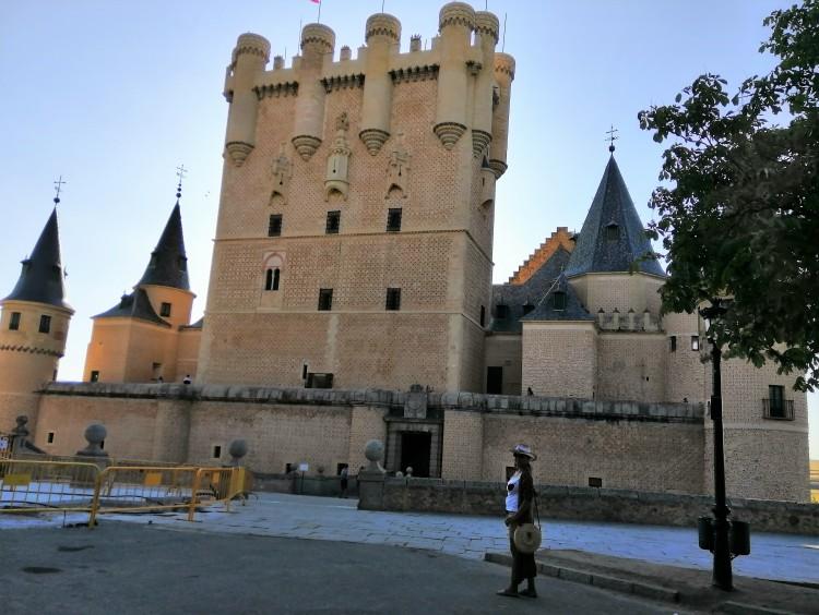 Eel alcázar de Segovia, Castilla y León, España.