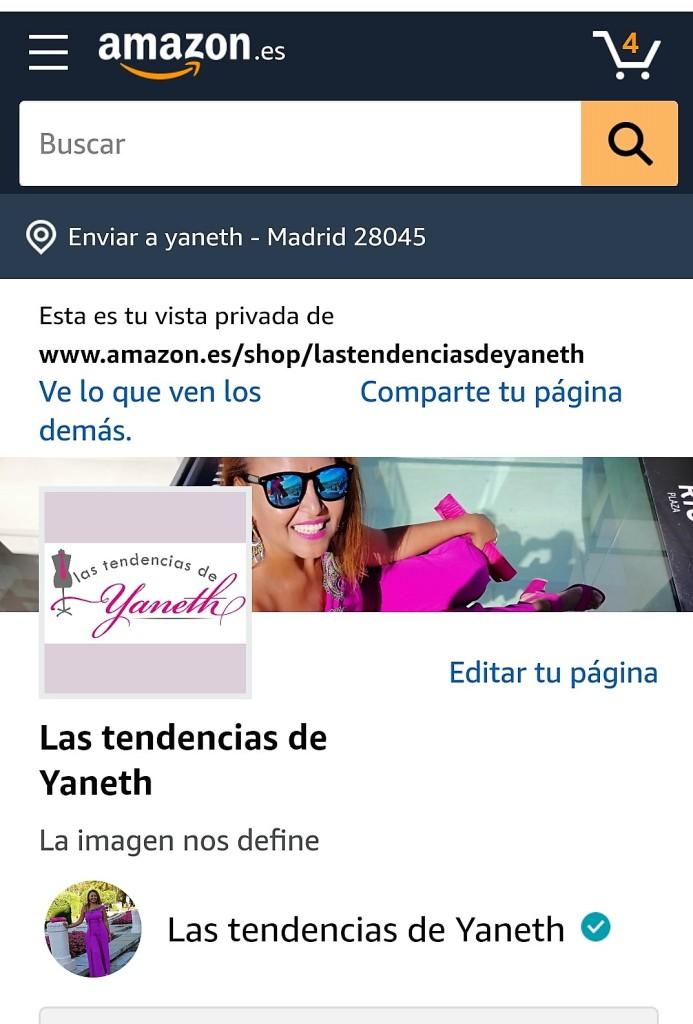 Amazon.es/shop/lastendenciasdeyaneth