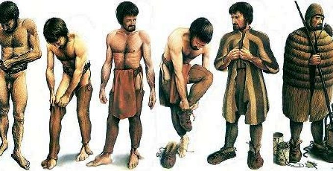 Ropa de la pre historia